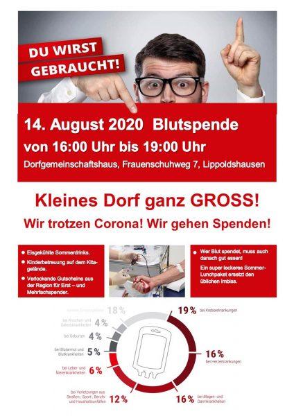 Blutspenden in Lippoldshausen