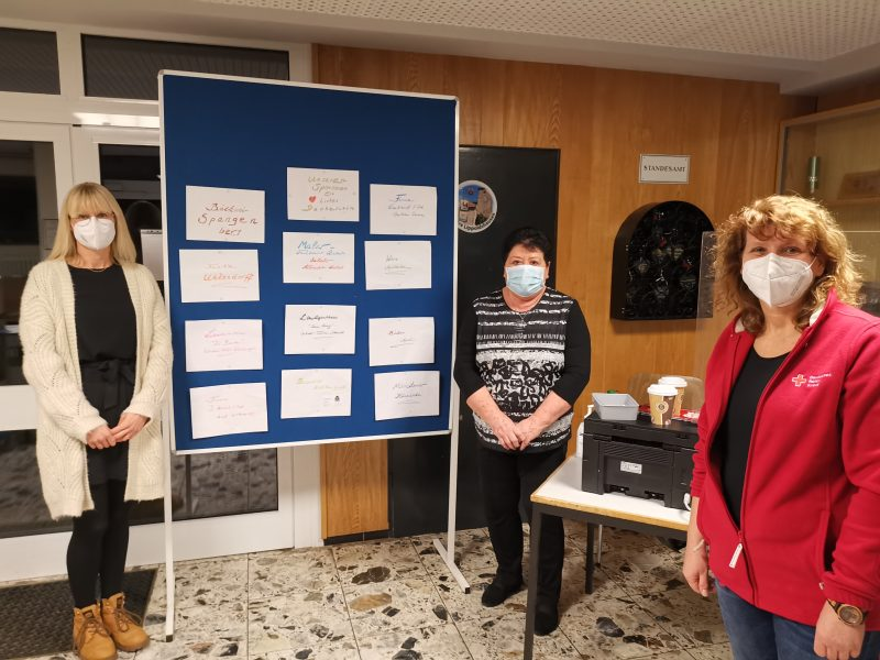 Blutspende in Lippoldshausen am 22.01.2021