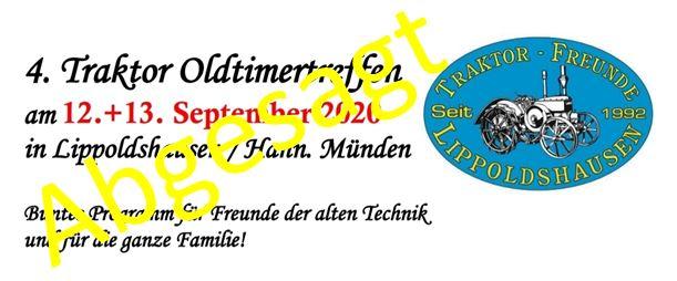 Traktortreffen 12.-13.9.2020